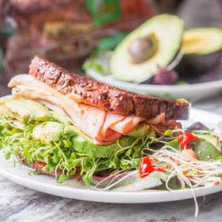 Turkey Arugula Sandwich with Sriracha Aioli Recipe {GF, DF}.