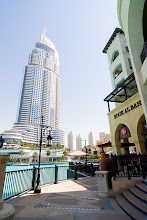 Photo: The Address downtown Dubai hotel