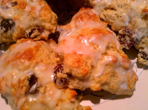 Cherry And Orange Scones Recipe