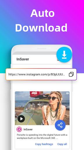 Video Downloader for Instagram, Repost IG- Insaver 1.15.1 screenshots 2