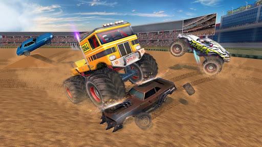 Crash Monster Truck Destruction