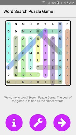 词搜索益智游戏