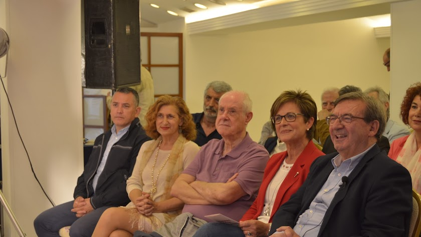 Presentación del programa electoral del PSOE de la capital.