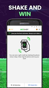 BetShot - Returns Guaranteed Estimates - náhled