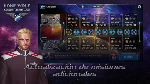 Battleship Lonewolf - Space TD para Android