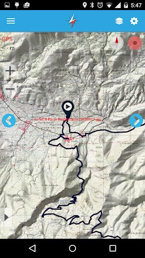 The Fast Track GPS Tool screenshot