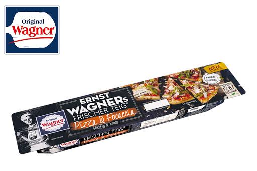 Bild für Cashback-Angebot: ERNST WAGNERs Frischer Teig Pizza & Focaccia - Wagner