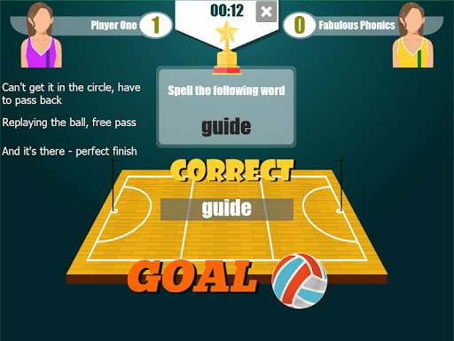 Netball Word Cup - The Netball Spelling Game  screenshots 1