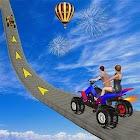 ATV Quad Bike Stunts Impossible Bike Games icon