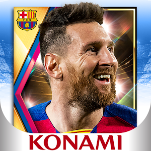 PES CARD COLLECTION 3.5.0 by KONAMI logo