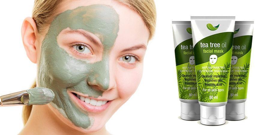 Kết quả hình ảnh cho sản phẩm chăm sóc da mặt Tea Tree Oil