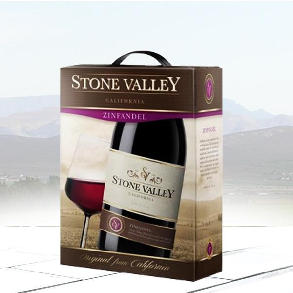 Rượu vang bịch Stone Valley 3 lít cao cấp ngon như vang chai | khoruou.vn