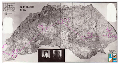 """Photo: Карта под соревнования """"Память 1987""""."""