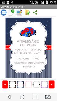 Convite Digital Plus Gratis