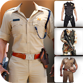 Men Police Photo Suit 2017