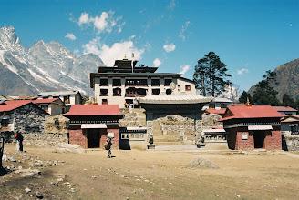 Photo: Das Kloster Tengboche