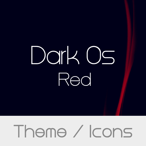 Dark Os Red Theme