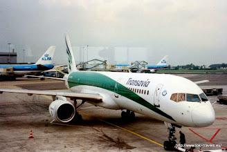 Photo: Ons vliegtuig   Our plane.