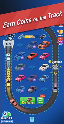 Ultimate Merge Cars: Idle Driving & Racing Tycoon apktram screenshots 3