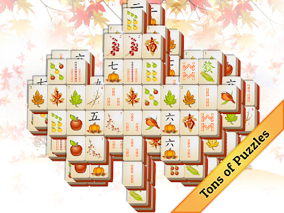 Fall Mahjong- screenshot thumbnail