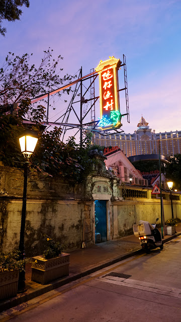 Gorgeous sunset in Macau in Macau, , Macau SAR