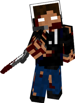Hey guys! This is my custom Halloween Version of my skin!