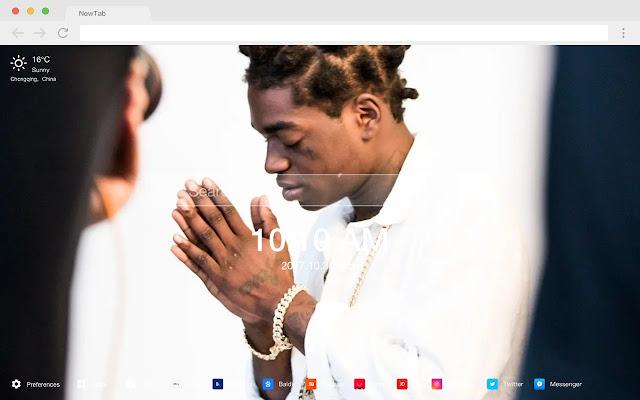 Kodak Black Pop Singer HD New Tabs Themes