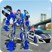 Free US Police Car Real Robot Transform: Robot Car Game APK for Windows 8