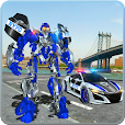 US Police Car Real Robot Transform: Robot Car Game file APK for Gaming PC/PS3/PS4 Smart TV