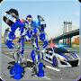 US Police Car Real Robot Transform: Robot Car Game file APK Free for PC, smart TV Download
