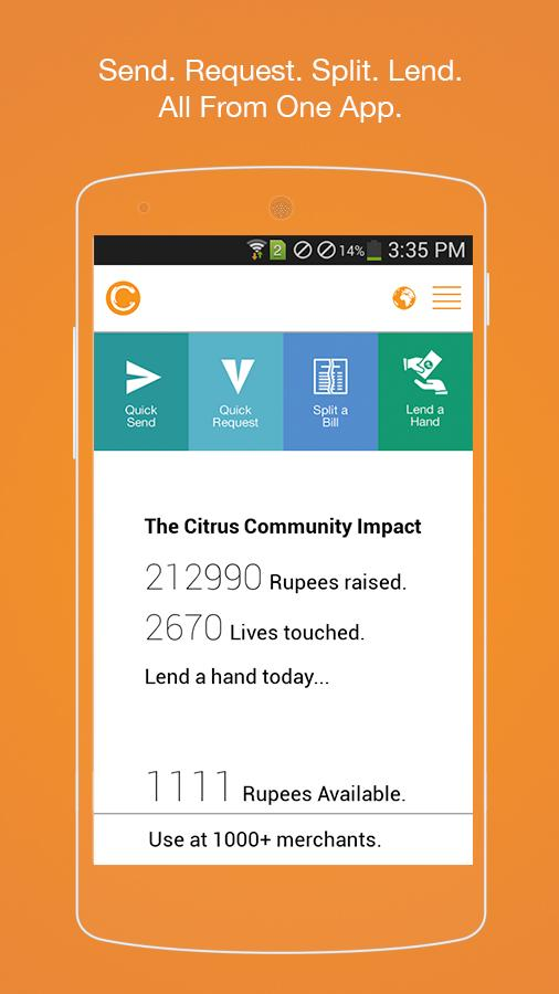 Citrus Cash - screenshot