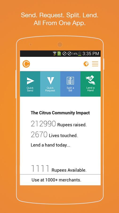 Citrus Cash- screenshot