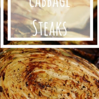 Roasted Cabbage Steaks {Recipe}