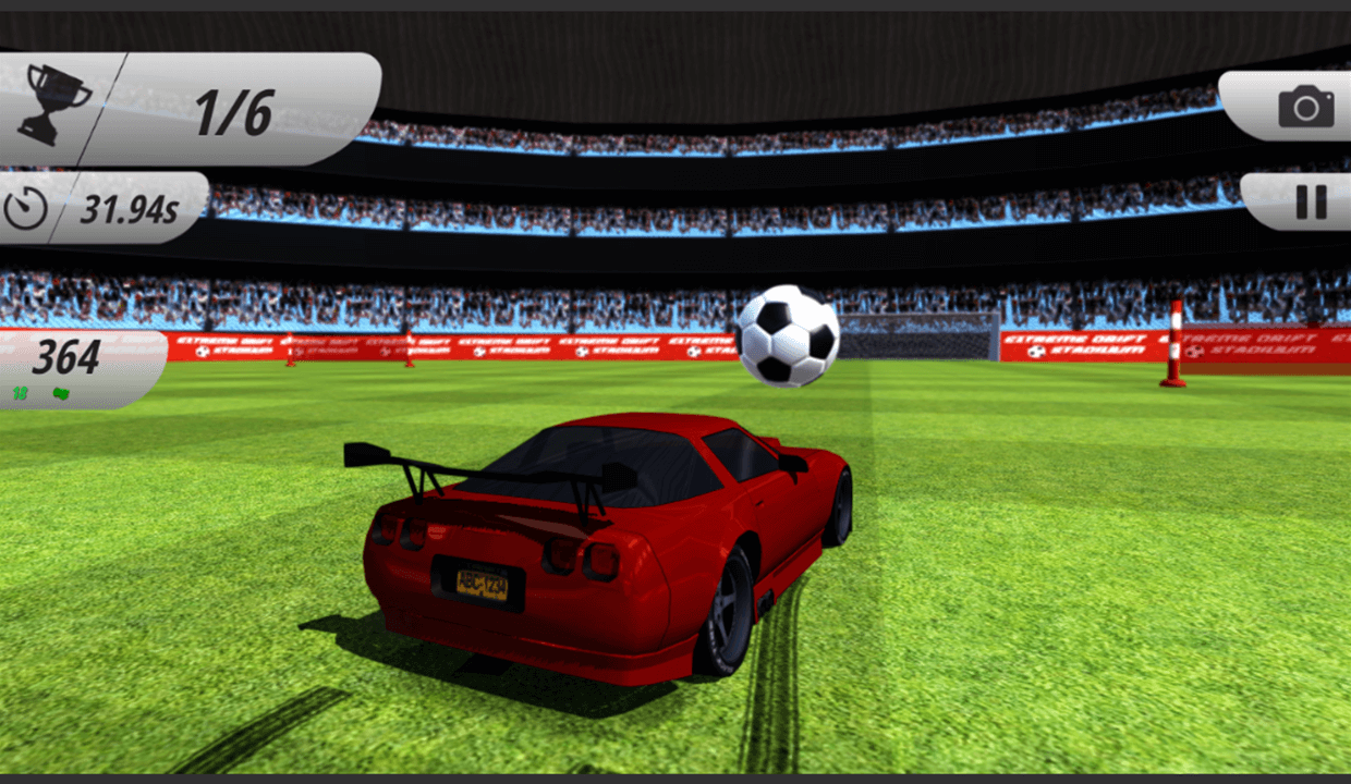 Rocket Car Racer- screenshot