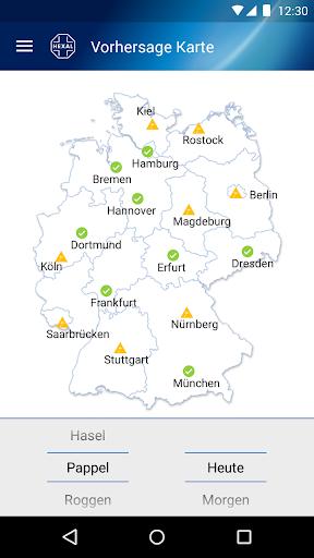 Pollenflug-Vorhersage 2.7 screenshots 1