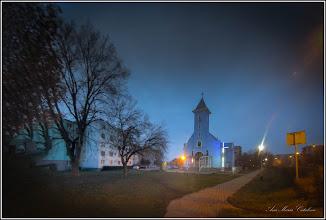 Photo: Calea Victoriei, Nr.3A - Biserica Greco Catolică - in zori de zi - 2018.01.12