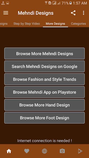 Mehndi Designs (offline) screenshot 6