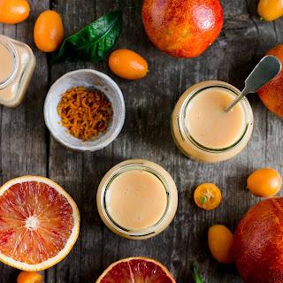 Vegan Blood Orange Curd.