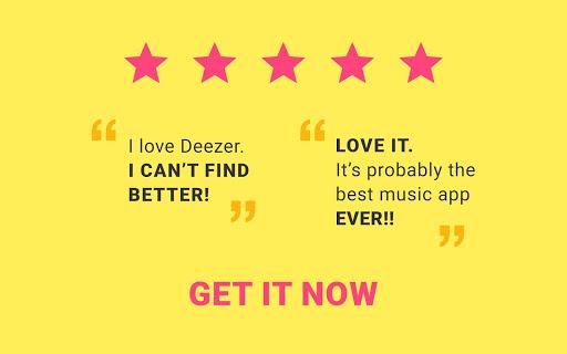 Deezer: Song & Music Playlists screenshot 10