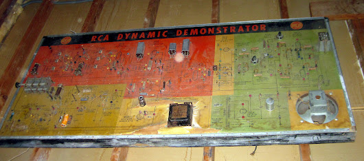 Days of yore the old RCA DYNAMIC DEMONSTRATOR  Wenatchee Home Inspections | NCW Home Inspections, LLC