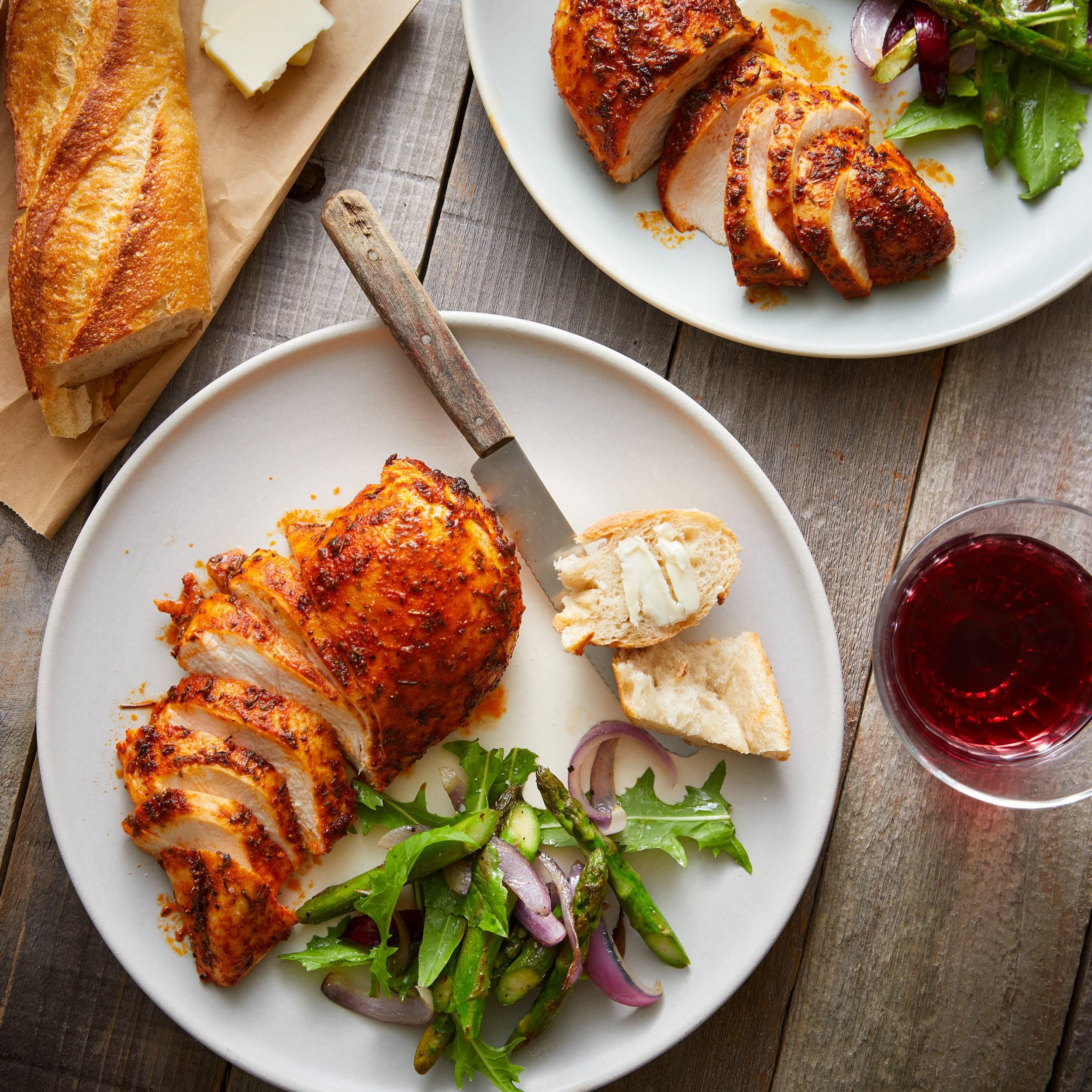 Juicy Oven-Baked Cajun Chicken Breasts