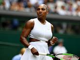 Serena Williams had het duidelijk lastig na haar verloren halve finale op de Australian Open