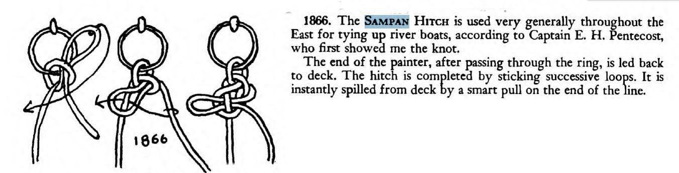 Sampan Hitch ABoK 1866
