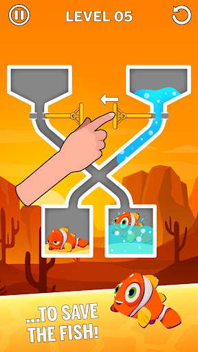 Water Puzzle - Fish Rescue & Pull The Pin 1.0.20 screenshots 2