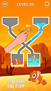 Water Puzzle – Fish Rescue & Pull The Pin 2