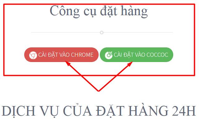 Dathang24h.vn - Công cụ đặt hàng Taobao