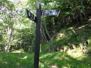 林道出(右に)