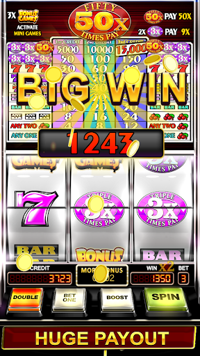 Triple Fifty Times Pay - Free Vegas Style Slots cheat screenshots 1