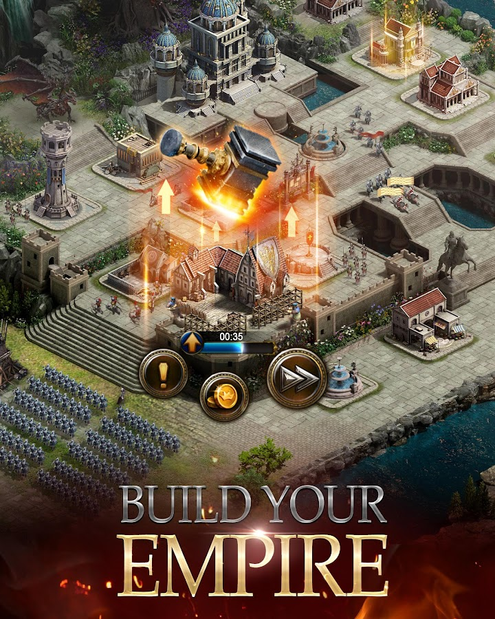 Screenshots of Clash of Kings for iPhone