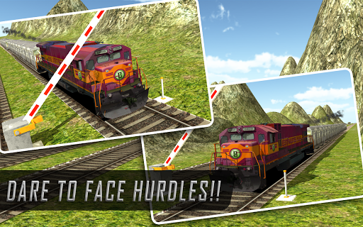 Real Mount Train Drive 3D